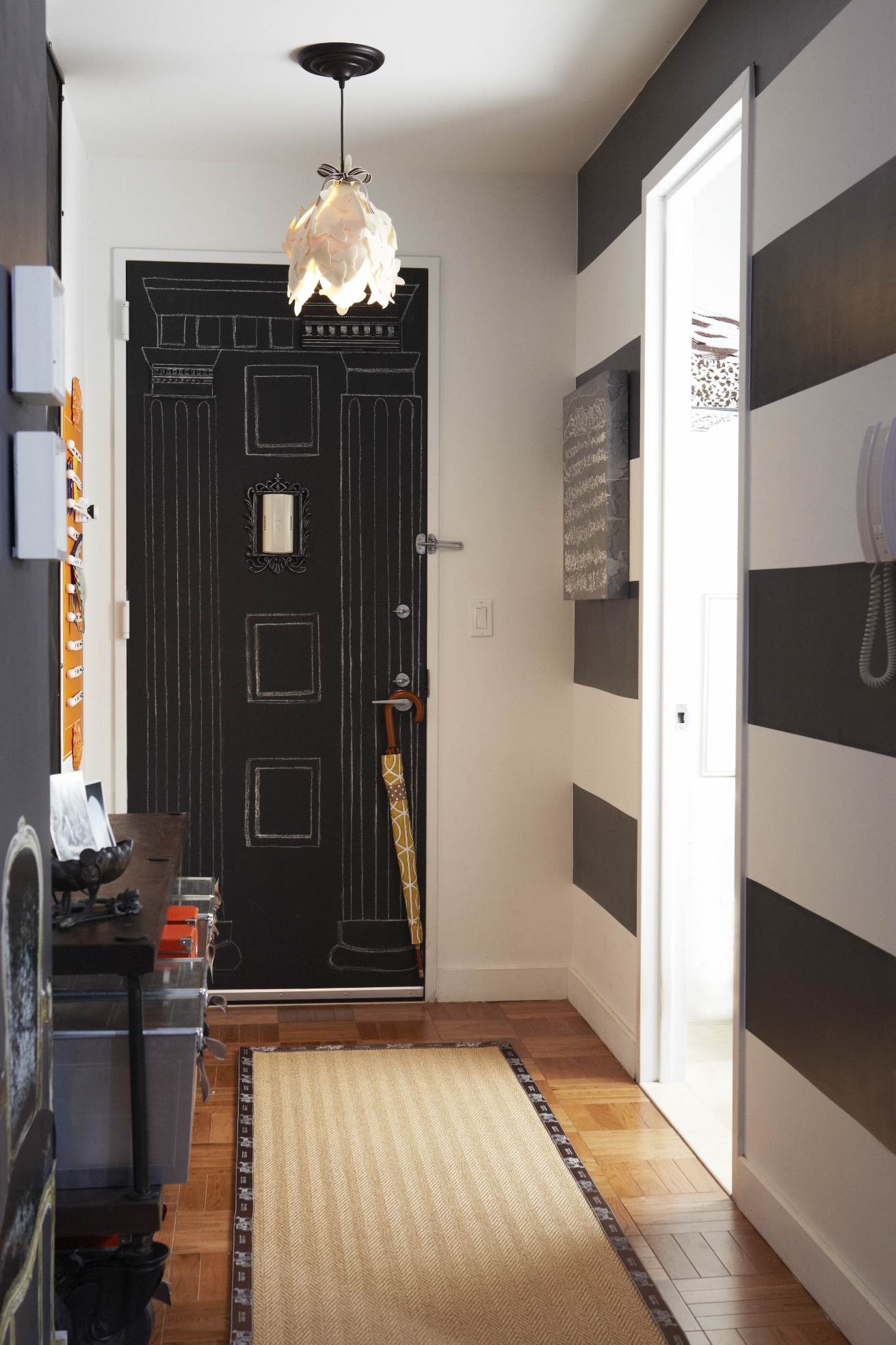 7_chalkboard paint door