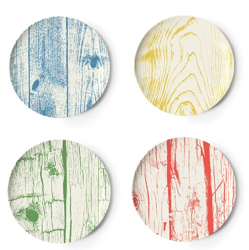Thomas Paul Faux Bois Melamine Coasters