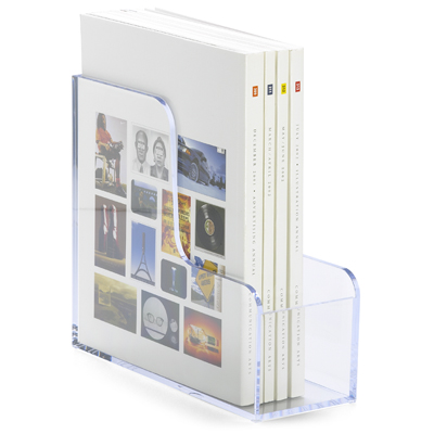 Clear Acrylic Magazine File Holders from Container Store