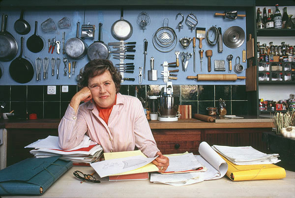 Julia Child Kitchen Pegboard