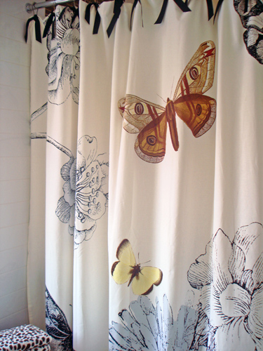 Curtains Ideas butterfly shower curtain : Hot Shower | Living in a Nutshell