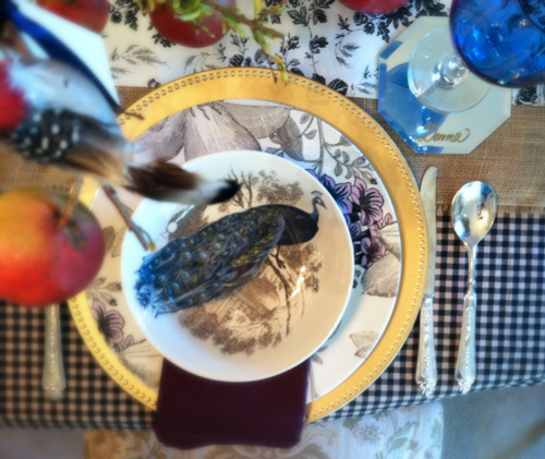 Photo 2 Place setting - Thanksgiving Decor on a Dime