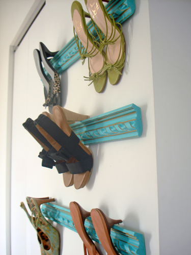 Rack Em Up Removable Shoe Molding Rack Living In A