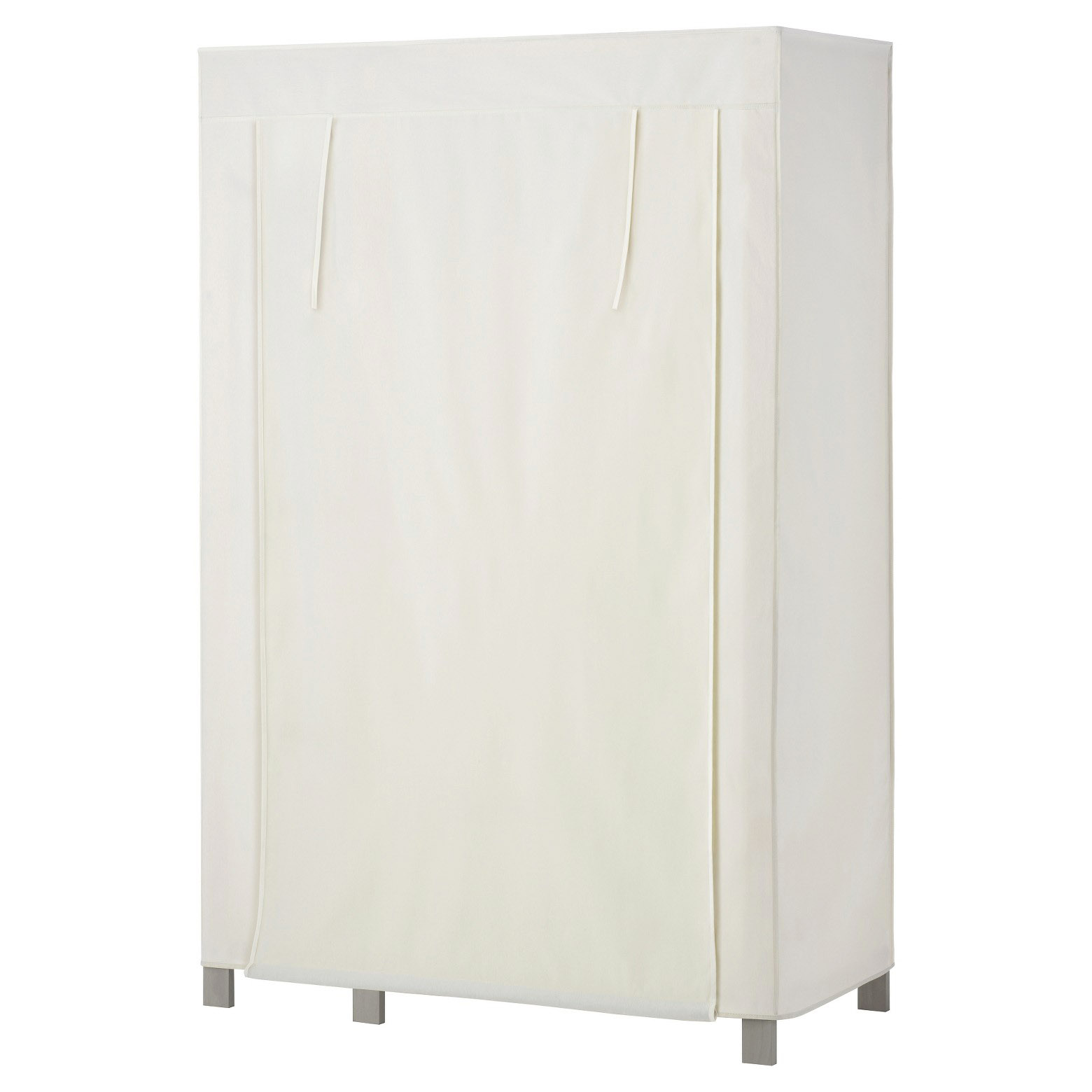 Canvas Garment Rack Cover  - Sacked: Burlap Covers For Metal Pantry Shelving