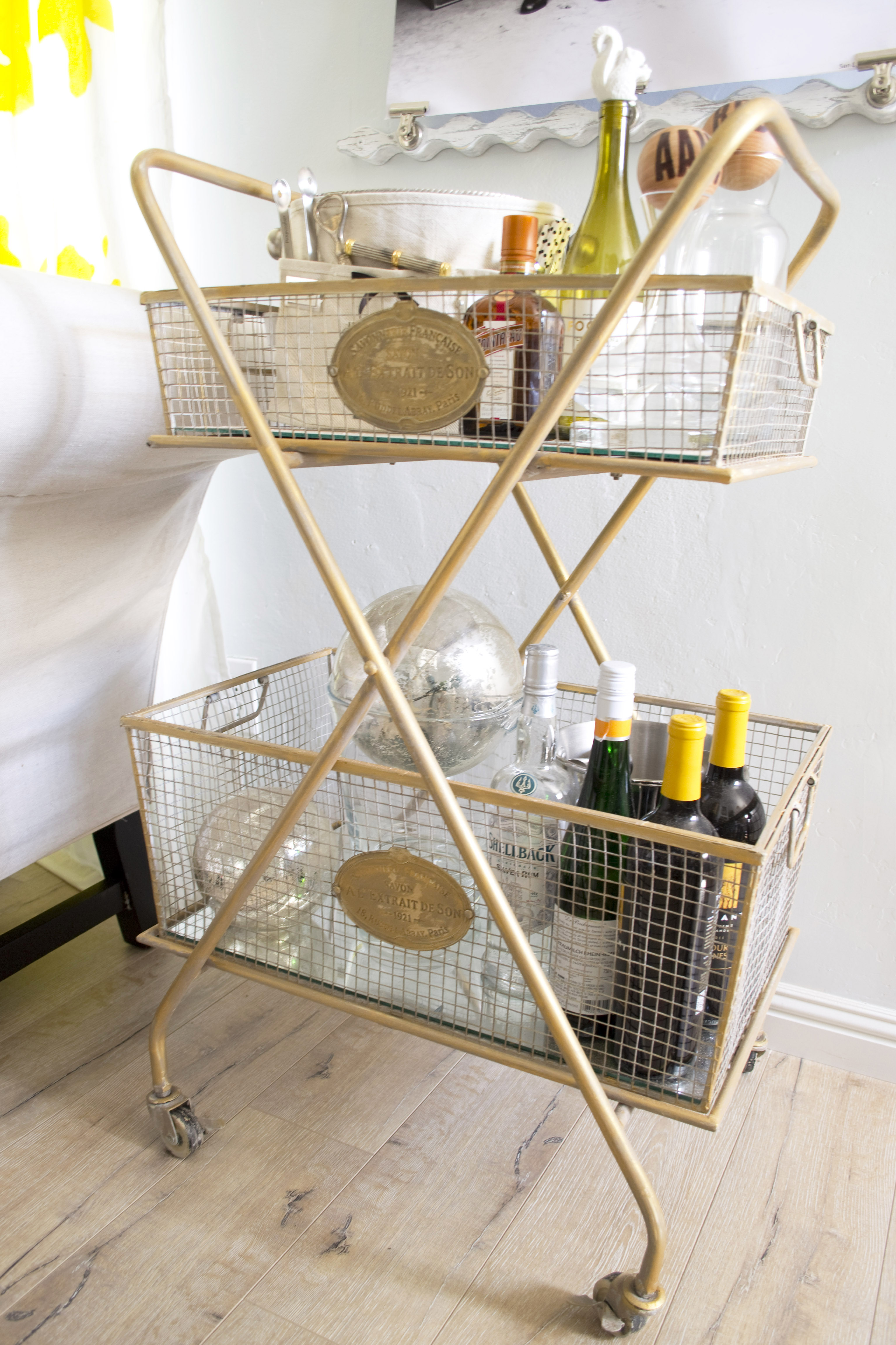 Close Bar Cart