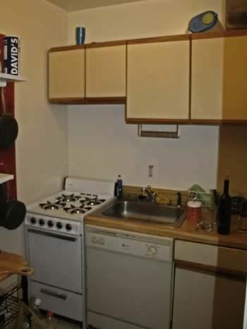 NYC Studio Kitchen Before