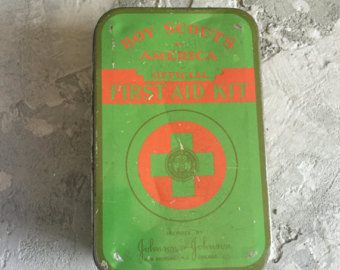 Vintage Boy Scout Tin