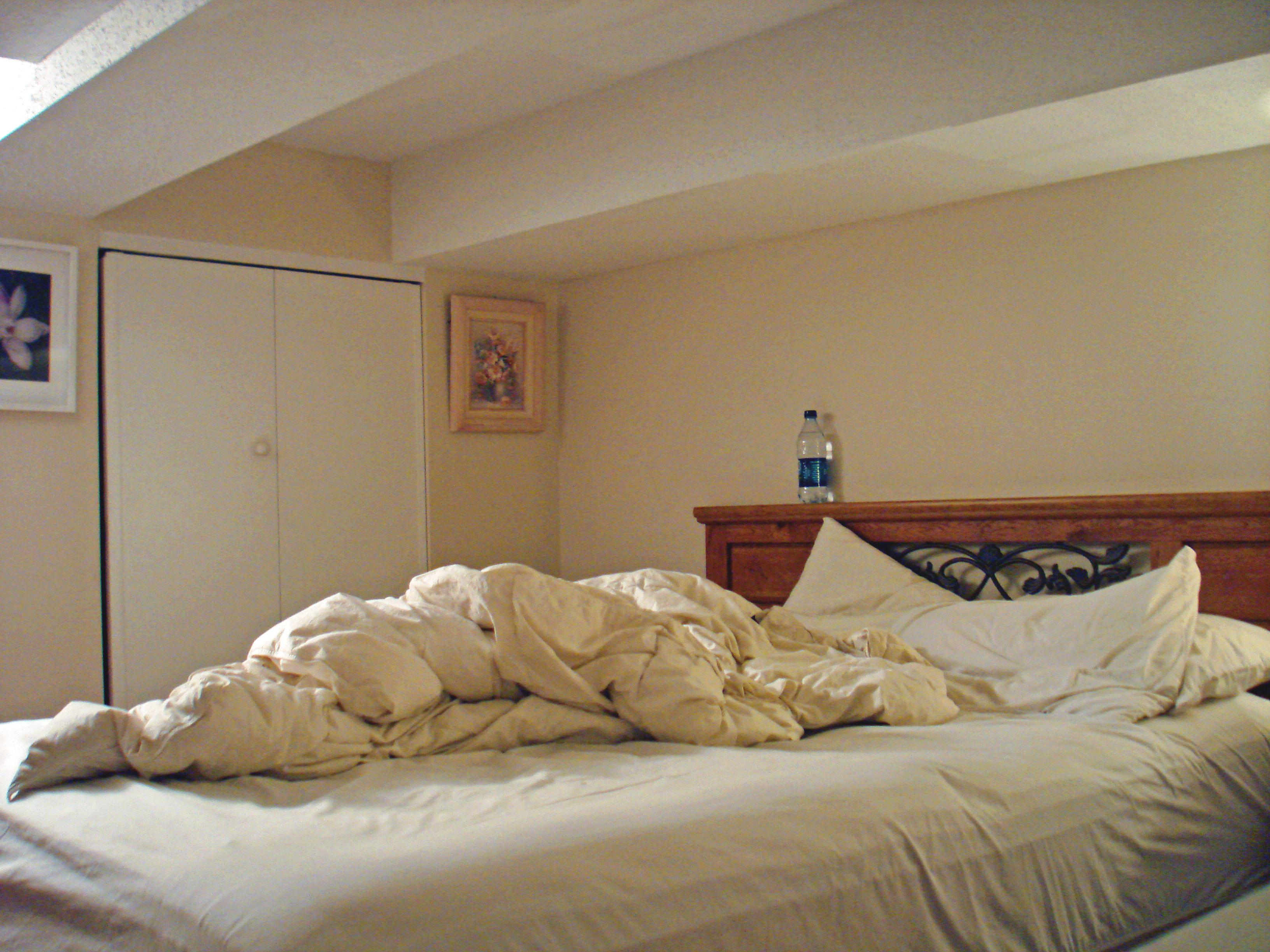 Before Bedroom Loft NYC