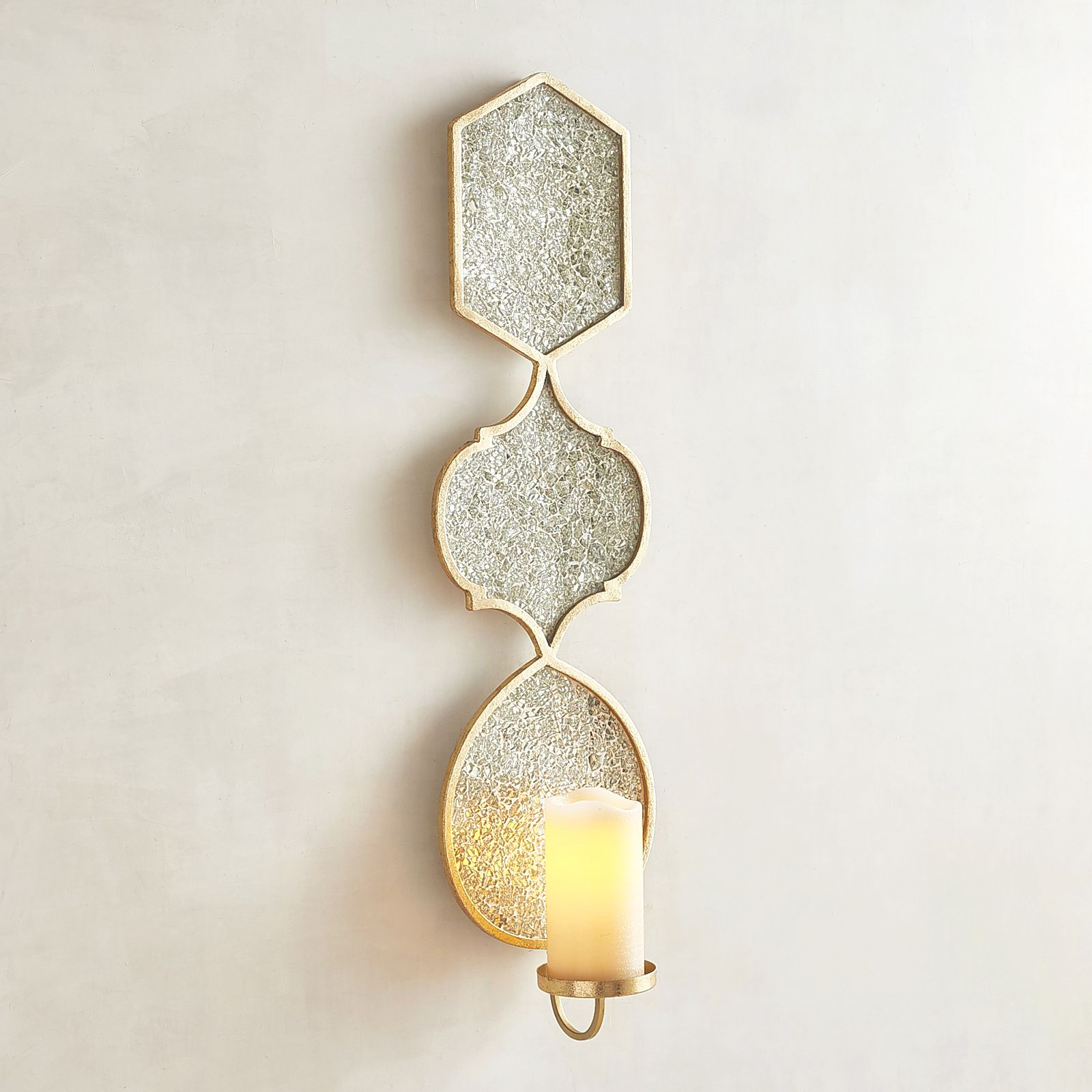 Gold Sconce Pier One