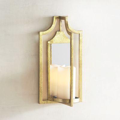 Gold Sconce Pier One - Skinny Light Sconce For a Cramped Bedroom