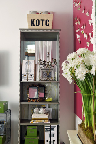 Photo 1 Mirror Bookshelf Style Reflection