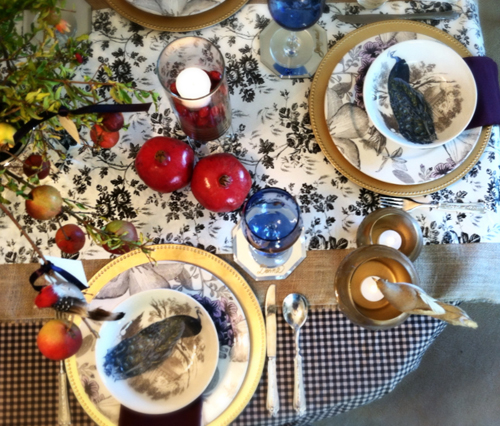 Photo 1 Table Wide - Thanksgiving Decor on a Dime