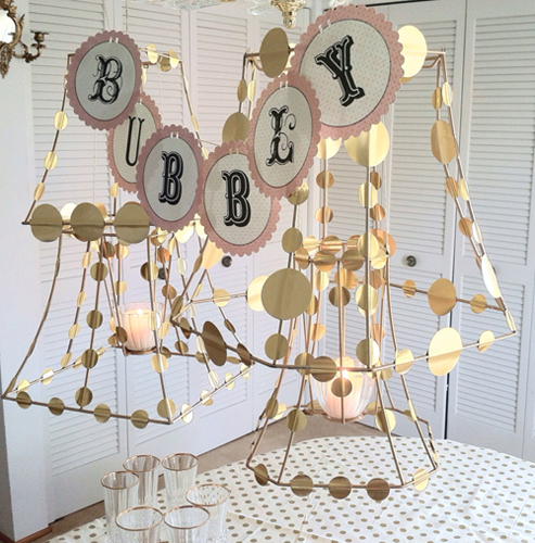 Lamp Shade Frame Party Lights