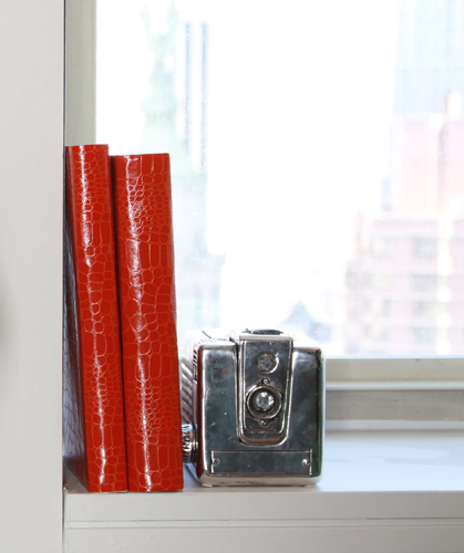 Photo 3 Books - Mock-nifique! Layer In Faux Crocodile Paper