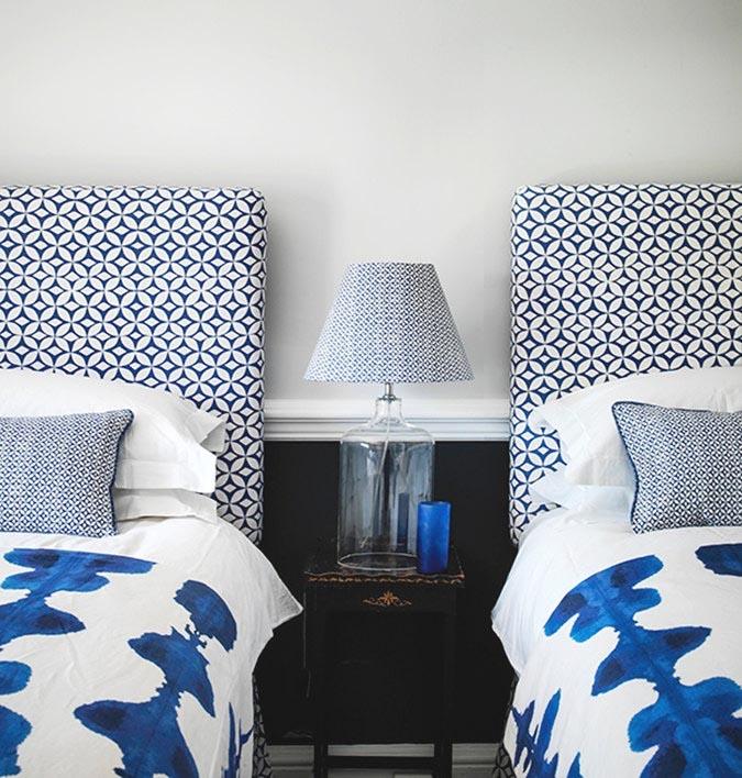 Korla Blue Inkat Duvet Cover