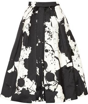 Tibi Paint Splatter Skirt