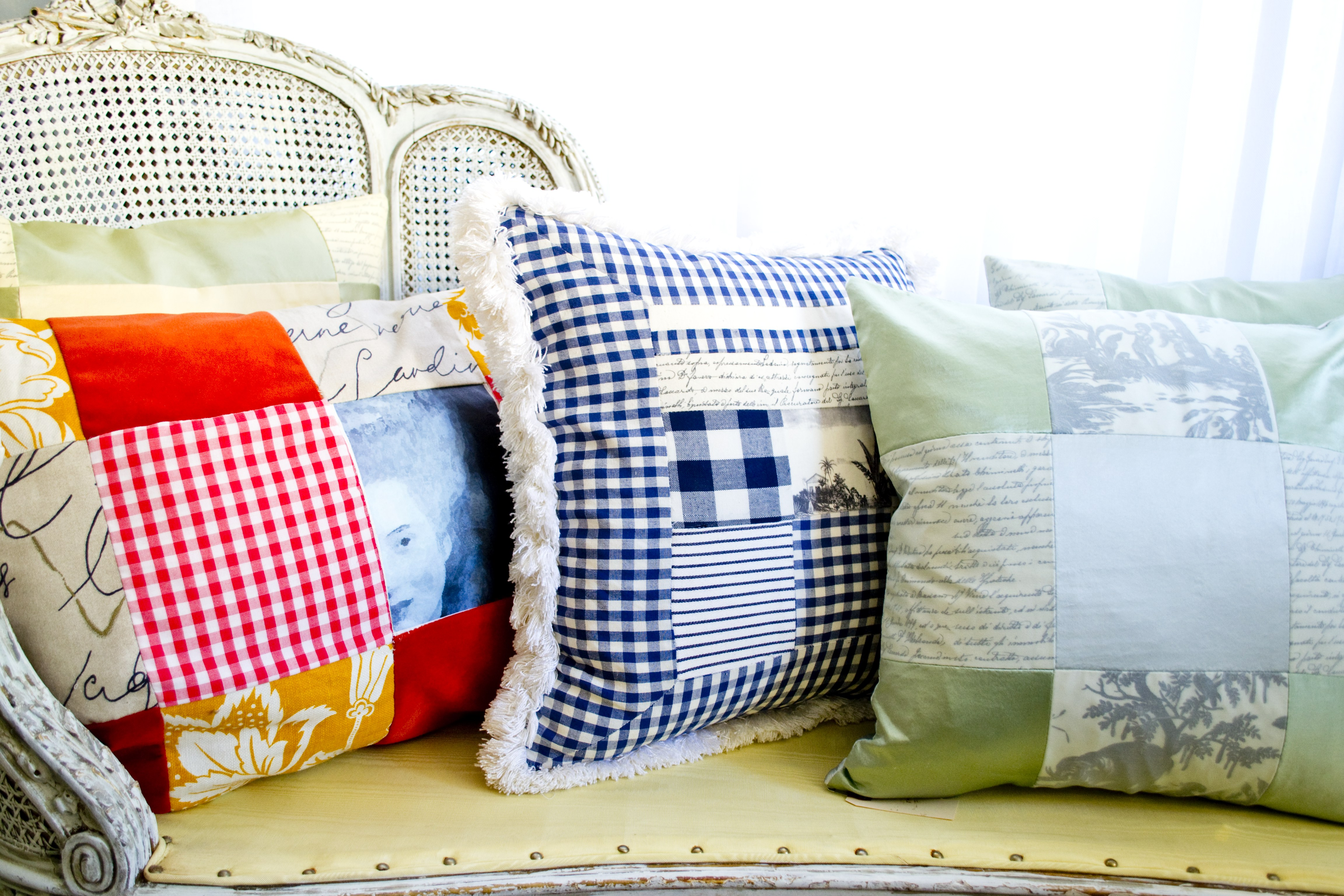 Medium Wide DIY Laser Print Pillows