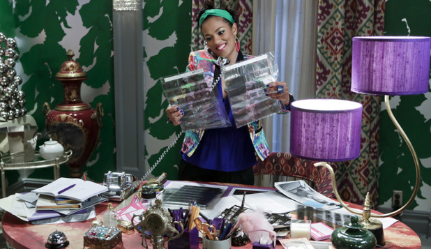 Still From Carrie Diaries